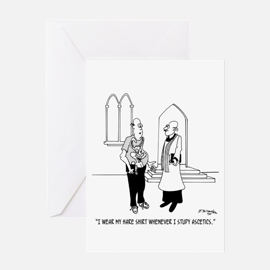 Hare Shirt Greeting Card