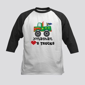 Personalized Truck Lover Baseball Jersey