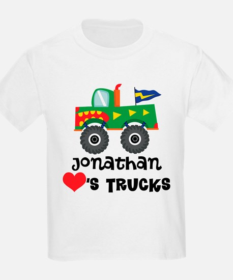 Personalized Truck Lover T-Shirt