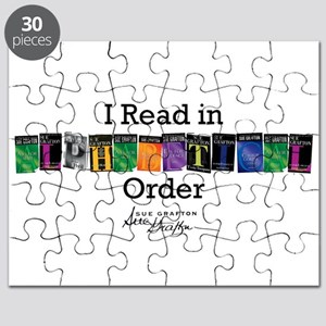 I Read in Alphabetical Order Puzzle