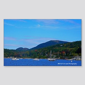 Bar Harbor Sticker (Rectangle)