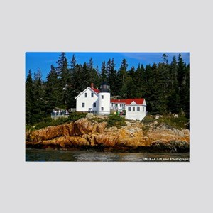 Maine Lighthouse Rectangle Magnet