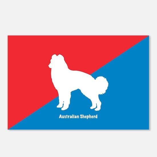Shepherd Diagonal Postcards (Package of 8)
