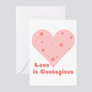 Love is Contagious Greeting Cards (Pk of 10)