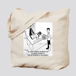 Lawyer Doesn't Do Laundry Tote Bag