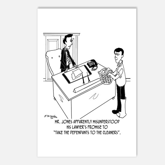 Lawyer Doesn't Do Laundry Postcards (Package of 8)
