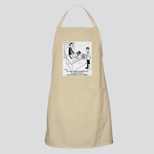 Lawyer Doesn't Do Laundry Apron