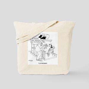 Flea Bargaining Tote Bag