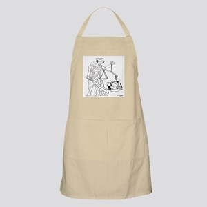 Lady Justice, Blind, but not Deaf Apron