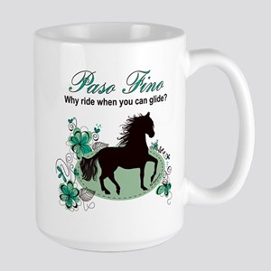 Paso Fino - Why Ride When You Can Glide - Teal/Bla