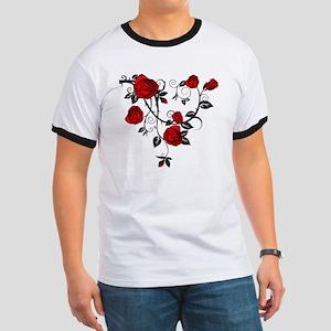 Red Rose Ringer T