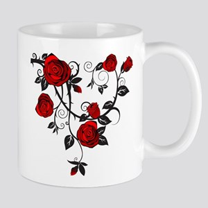 Red Rose Mugs