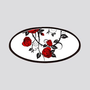 Red Rose Patches