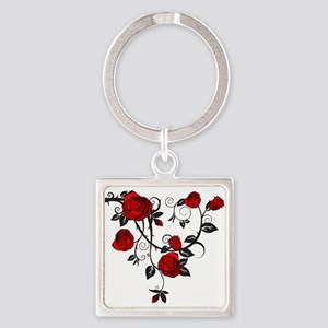 Red Rose Keychains