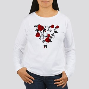 Red Rose Long Sleeve T-Shirt