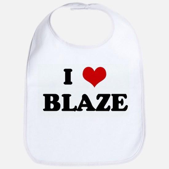 I Love BLAZE Bib