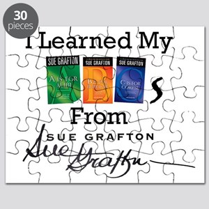 I Learned My ABCs - Sue Grafton Puzzle