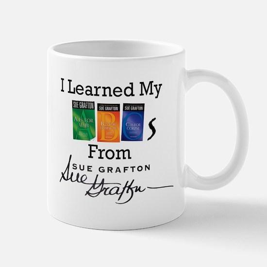 I Learned My ABCs - Sue Grafton Mug