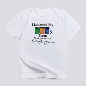 I Learned My ABCs - Sue Grafton Infant T-Shirt
