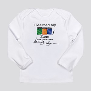 I Learned My ABCs - Sue Long Sleeve Infant T-Shirt