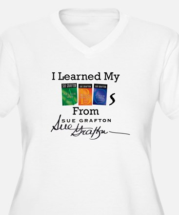I Learned My ABCs Plus Size T-Shirt