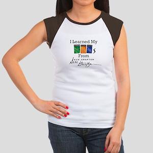 I Learned My ABCs - Su Junior's Cap Sleeve T-Shirt