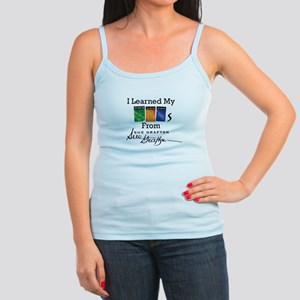 I Learned My ABCs - Sue Grafton Jr. Spaghetti Tank