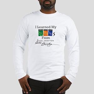 I Learned My ABCs - Sue Grafto Long Sleeve T-Shirt