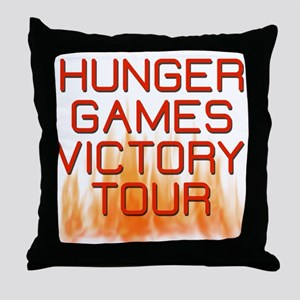 Hunger Games Victory Tour Catching Fire Throw Pill