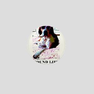 Hound Life Mini Button