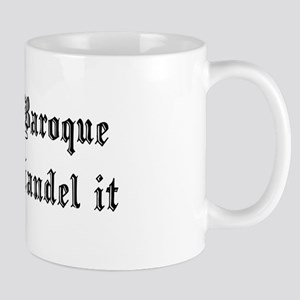 Baroque Pun Mug