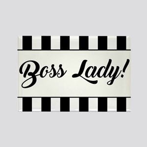 BOSS LADY! Magnets