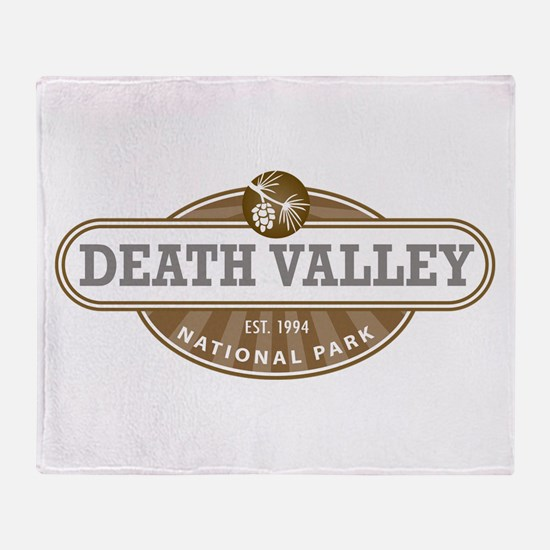 Death Valley National Park Throw Blanket
