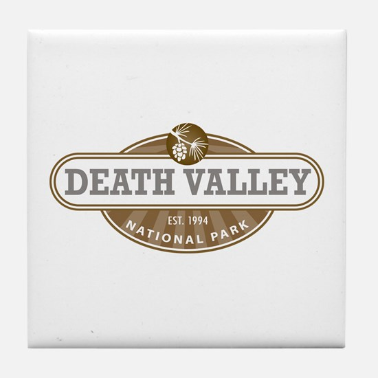 Death Valley National Park Tile Coaster