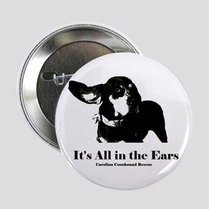 """Its All in the Ears 2.25"""" Button"""