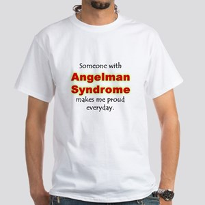 """Angelman Syndrome Pride"" White T-Shirt"
