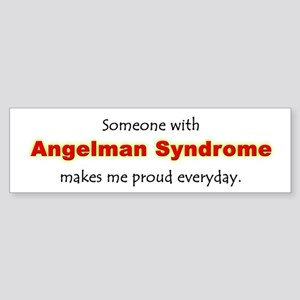 """Angelman Syndrome Pride"" Bumper Sticker"