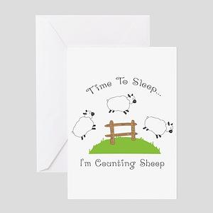 Time To Sleep Greeting Cards