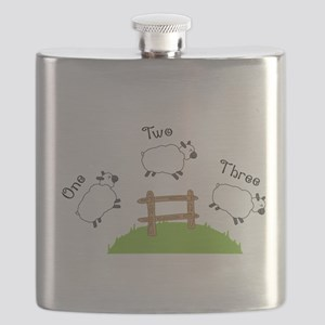 One Two Three Flask