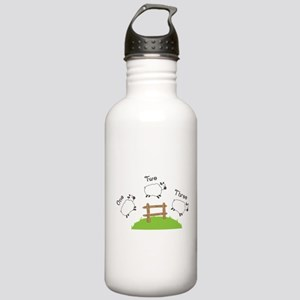 One Two Three Water Bottle