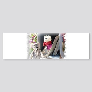 Franscious and Lennard mail day Sticker (Bumper)