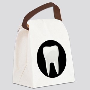 Tooth Canvas Lunch Bag