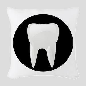 Tooth Woven Throw Pillow
