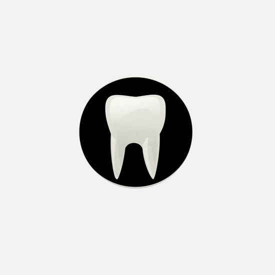 Tooth Mini Button