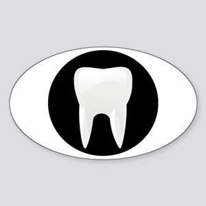 Tooth Sticker (Oval)