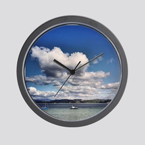 Boating Bliss Wall Clock