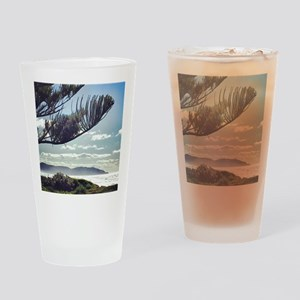 Beach Spray Drinking Glass