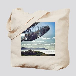 Beach Spray Tote Bag