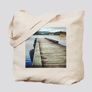 On the Jetty Tote Bag