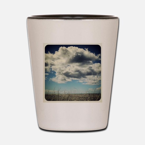 Cloud Watching Shot Glass